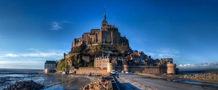 Monte Saint-Michel en Francia