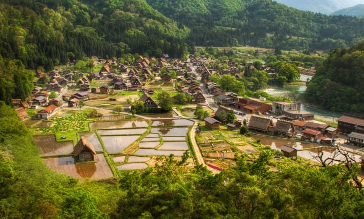 Shirakawa-go en Japón