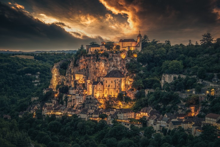 Rocamadour en Francia