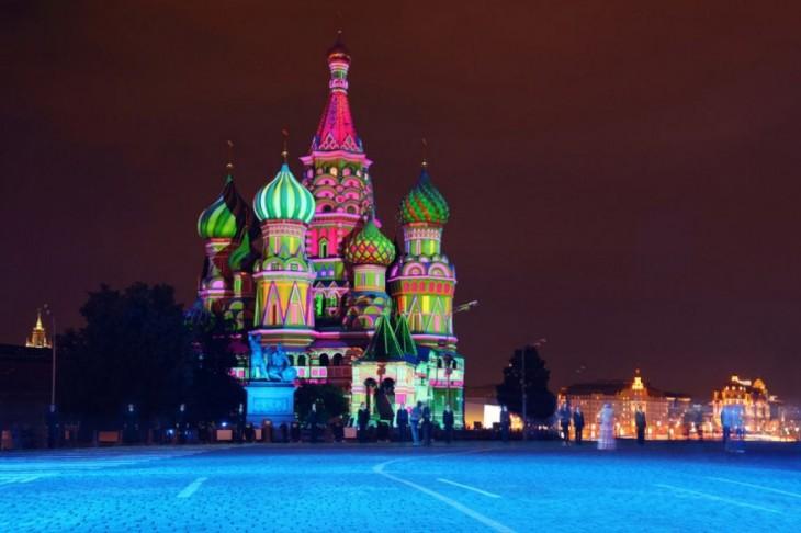 Catedral de San Basilio en Rusia