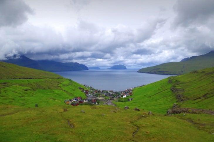 Kvívík en las Islas Feroe