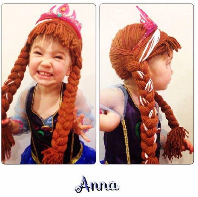 Mujer teje pelucas para niñas con cáncer (5)