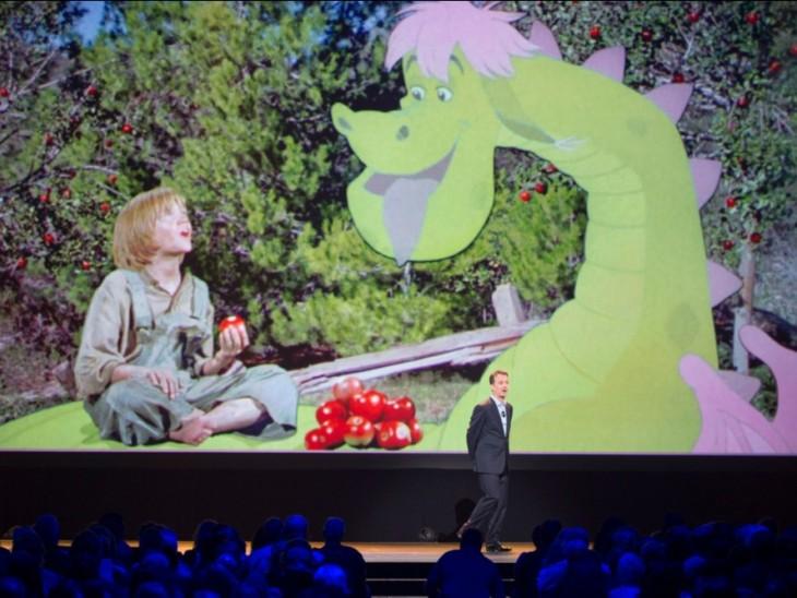 Disney presenta su próxima película de el dragon de pete en 2016
