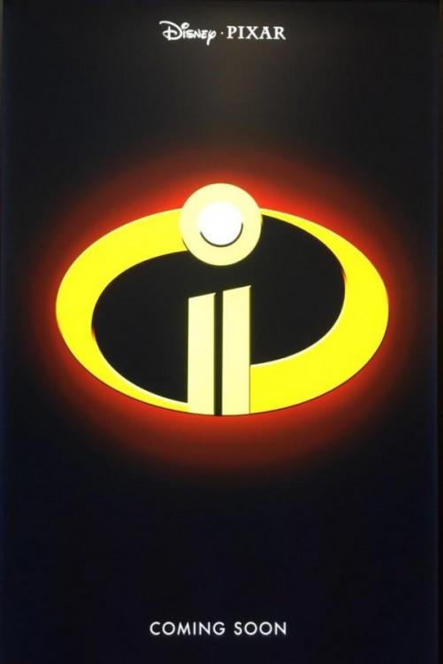 póster de promoción de la película Los Increíbles