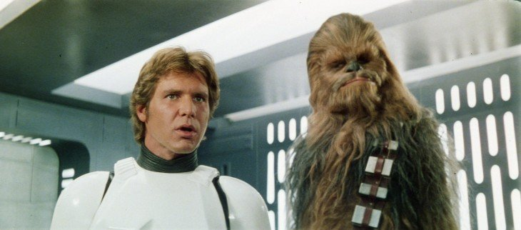 Han y Chewbacca de Star Wars