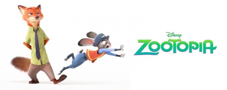 póster de la película Zootopia de Disney