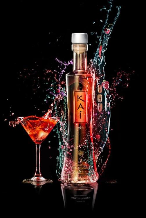 Publicidad del Kaí Vodka