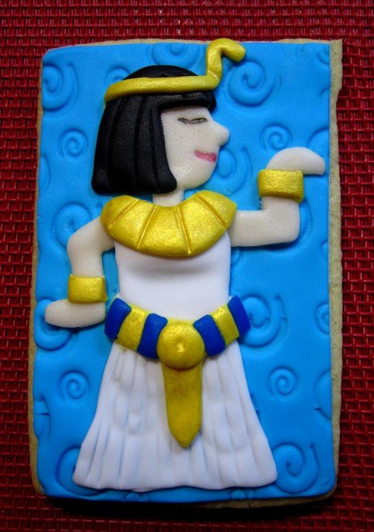 Pastel egipcio