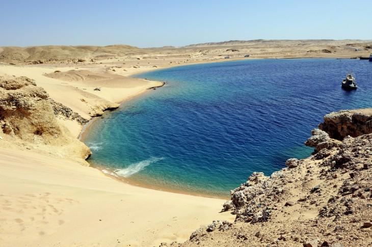 Sharm el sheik en la Península de Sinaí, Egipto