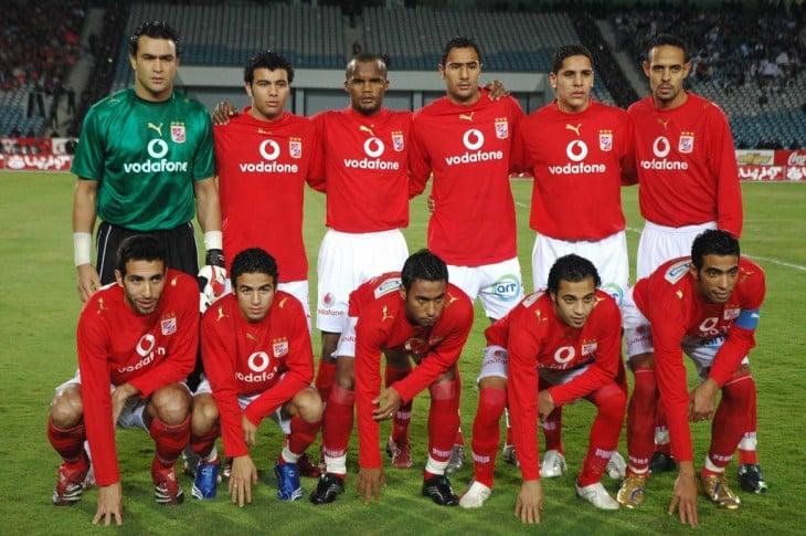 Equipo de fútbol egipcio