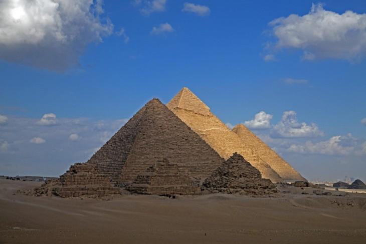 Fotografía de Píramides Giza en Egipto