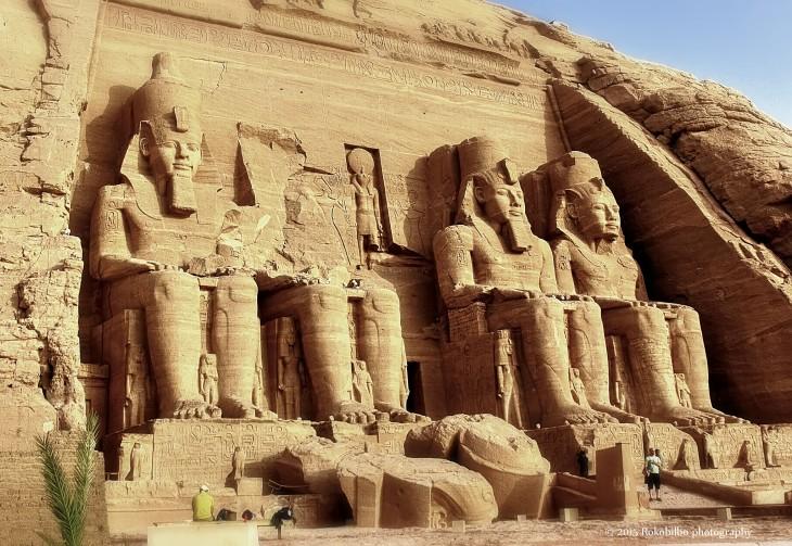 Monumento de Nubia y Asúan al aire libre en Egipto