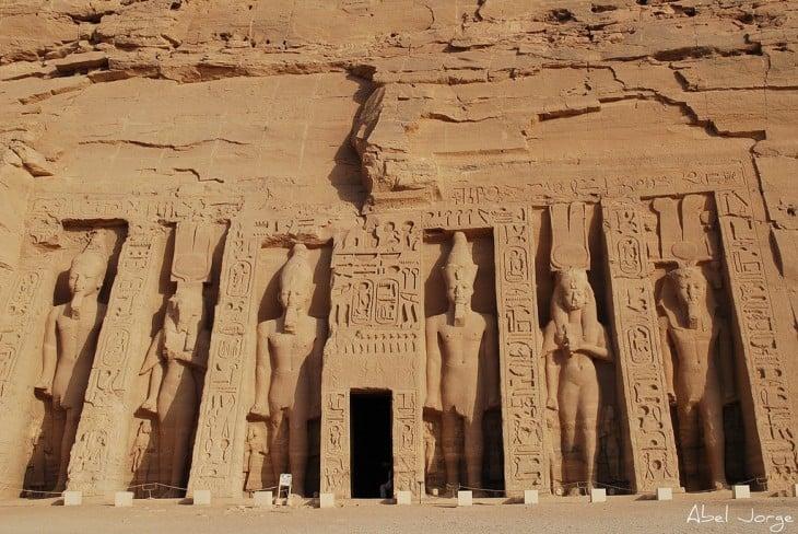 Templo de Nefertari en Egipto
