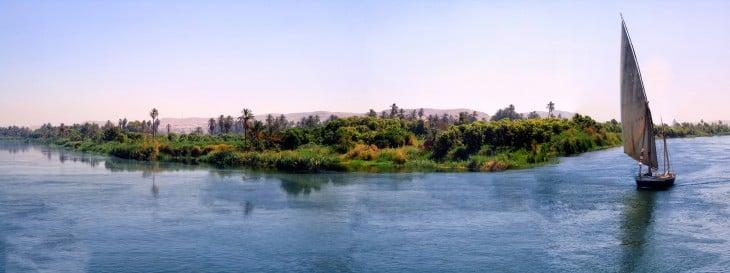 El Río Nilo es considerado el río más largo del mundo