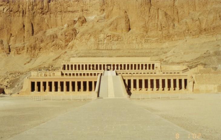 Templo Funerario de Hatshepsut en Egipto