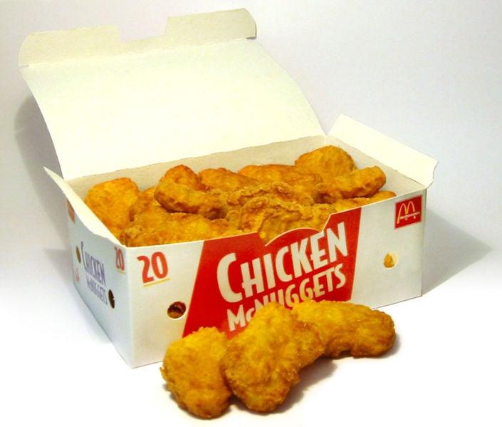 Nuggets de pollo de McDonald´s