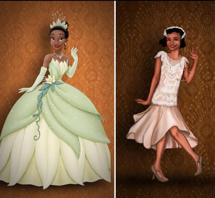 Así luciría la princesa Triana según los datos de su época