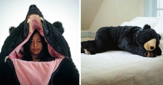 Eiko Ishizawa ha creado uno de las mejores y más originales bolsas para dormir
