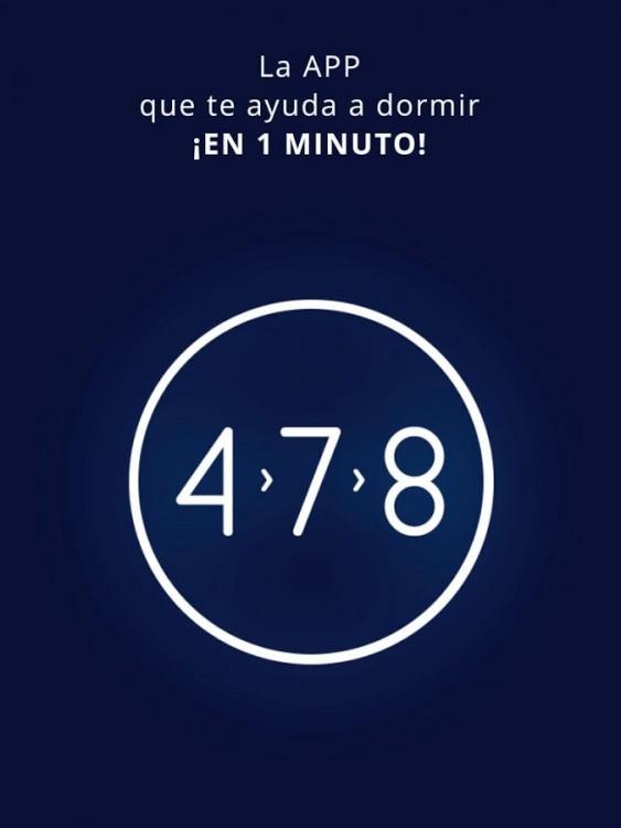 Aplicación android para la Técnica para lograr dormirte en 1 minuto