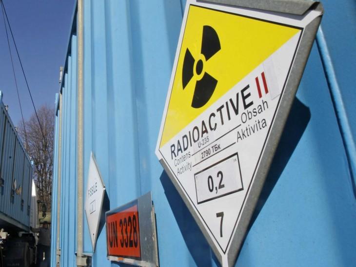 icono que muestra que es un lugar donde se hacen radiaciones