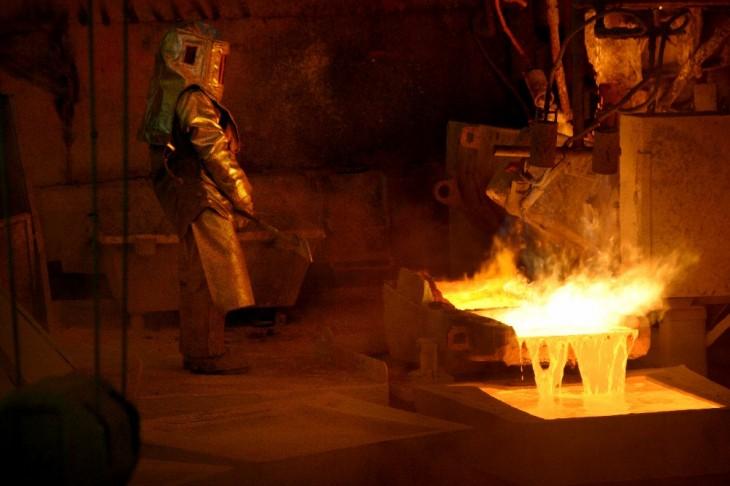 operador de horno de metal y refinación