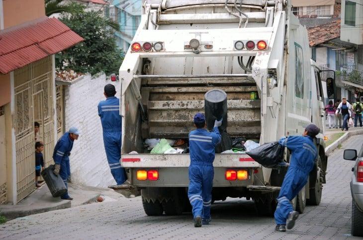 personas recolectores de basura