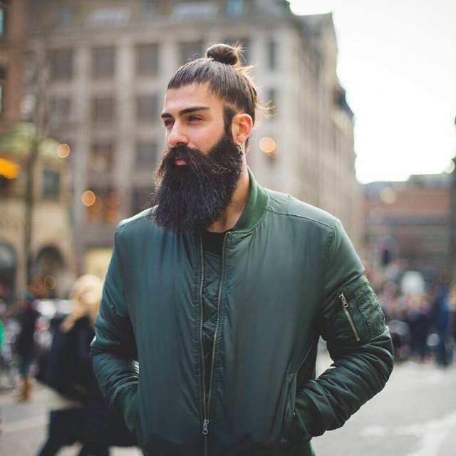 hombre modelo hipster de instagram