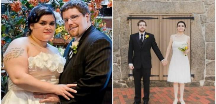 pareja baja 107 kilos juntos luego de cuatro añosde matrimonio
