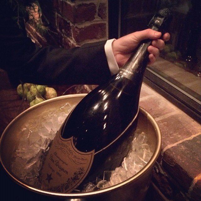 Dom Pérignon Rose Gold. Mathusalem