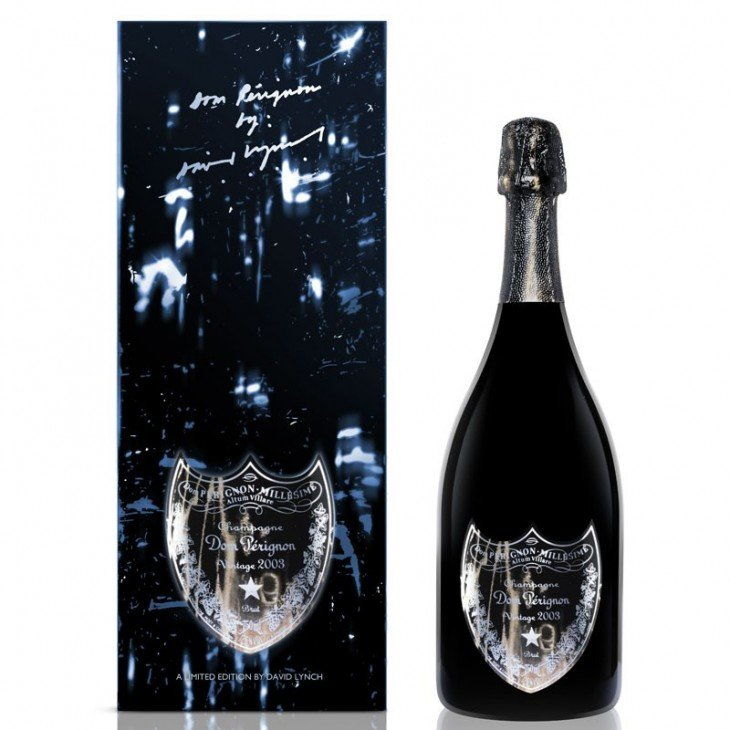 Dom Pérignon Rosé por David Lynch