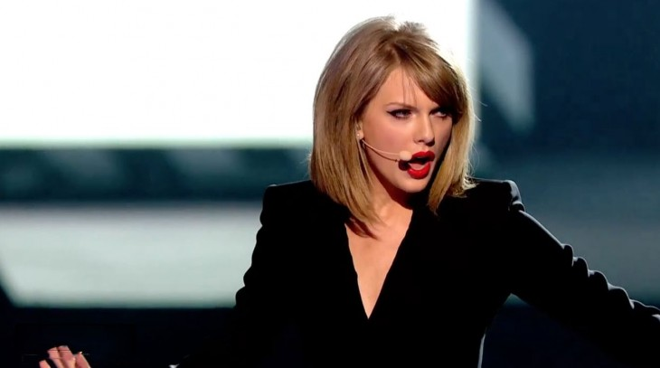Taylor Swift 'Blank Space' BRIT Awards 2015