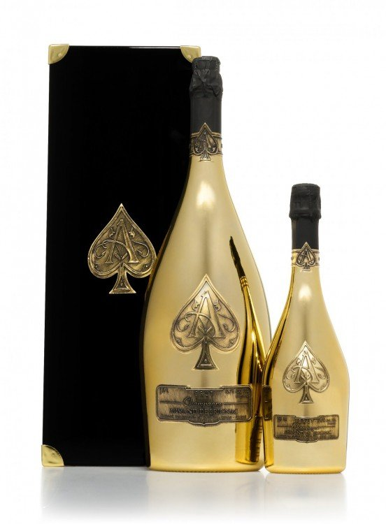 Armand de Brignac Brut Gold. As de Espadas 1995