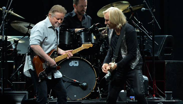 the Eagles Band en 2015