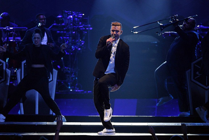 justin Timberlake en iHeartRadio Music Awards 2015