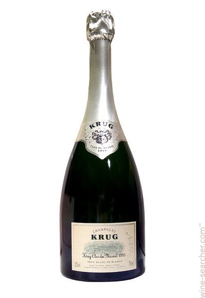 Champagne Krug Clos du Mesnil Blanc de Blancs 1995