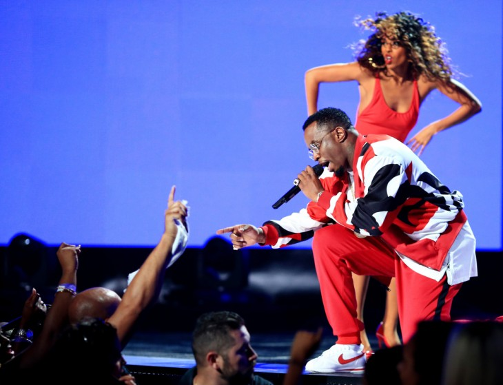 Diddy en el Performance BET Awards 2015
