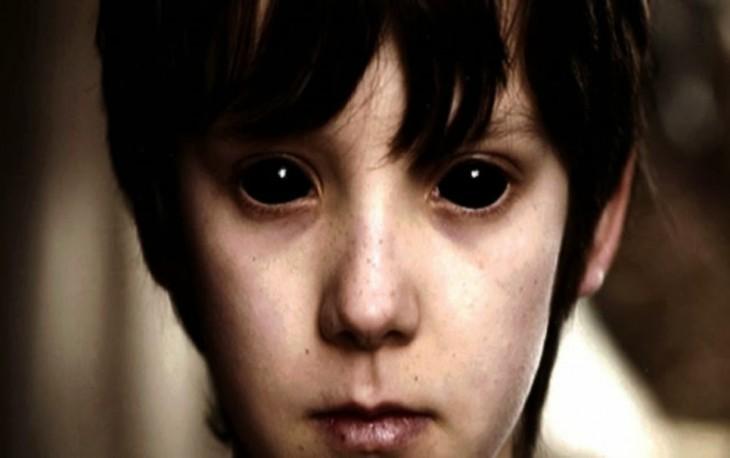 niño de los ojos negros, es una leyenda urbana de los estados unidos