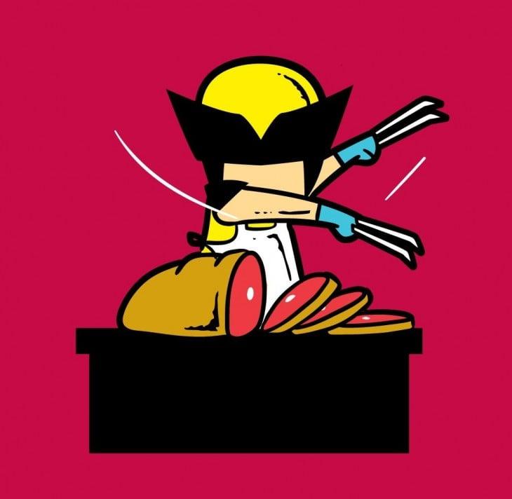 Wolverine sería algoasí como un carnicero