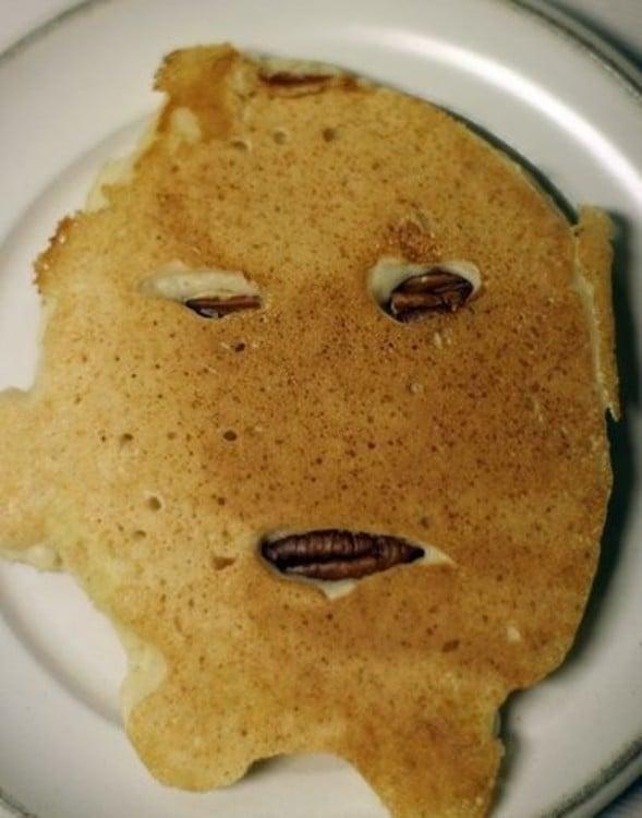 pancakes mal elaborados que dan miedo comerlos