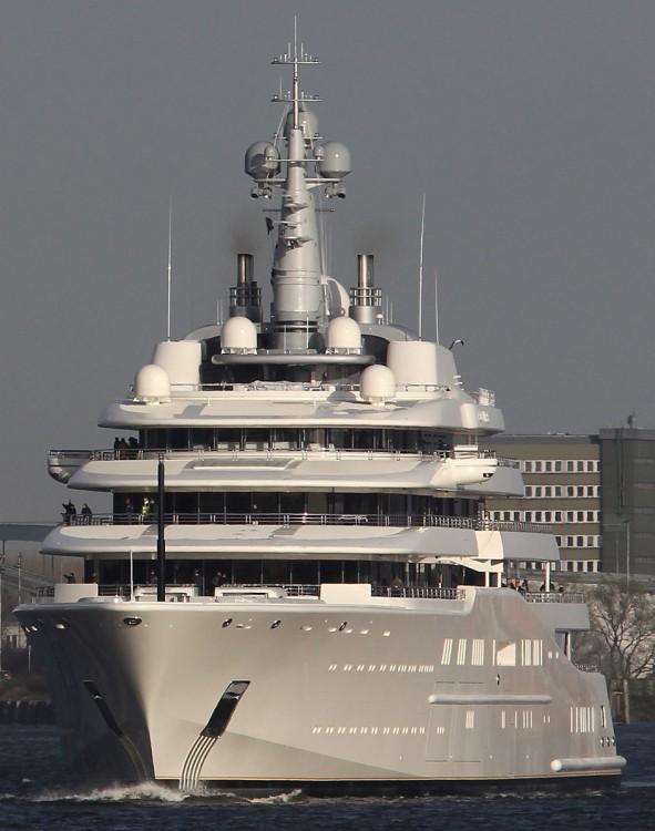 Abramovich Gigayacht Eclipse yate