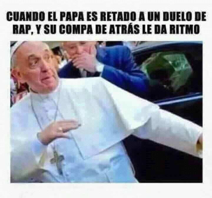 memes del papa