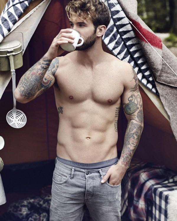André Hamann. Uno de los hombres mas guapos de instagram 2015