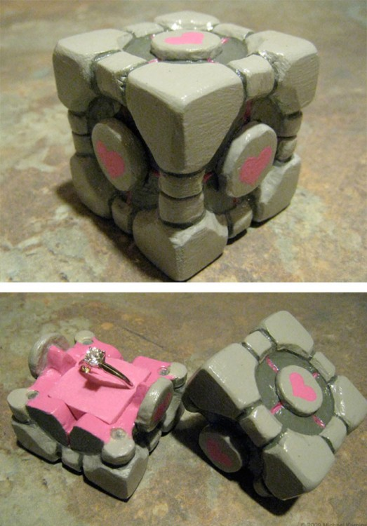 anillo de portales de corazón de Minecraft