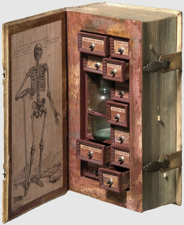 gabinete de posiones disfrazada de libros