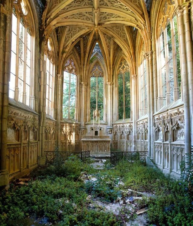Esta alguna vez fue una iglesia en Francia