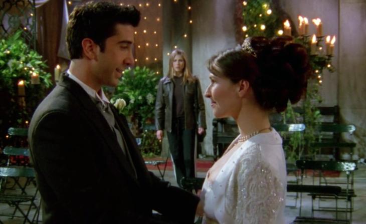 boda de ross y emily