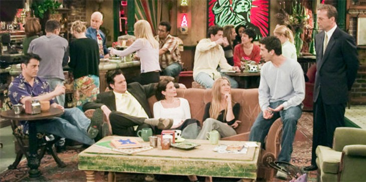 bruce willis participo en Friends gratis
