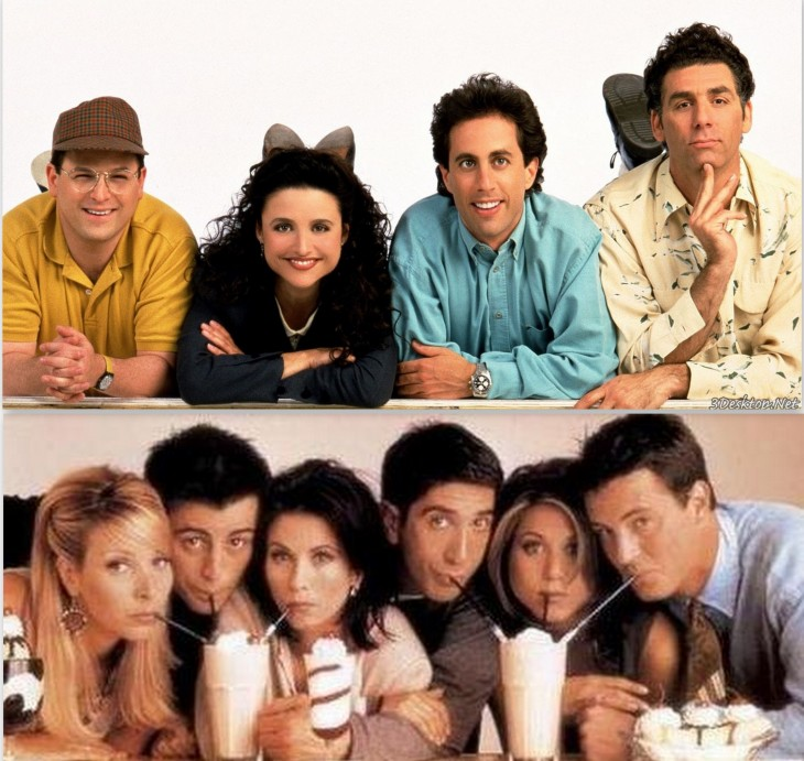 friends versus seinfeld
