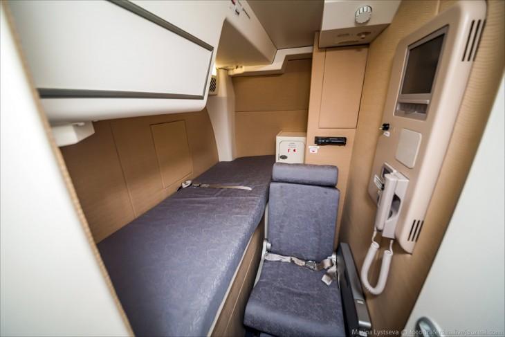 Lugares para descanso de los empleados del avión A380