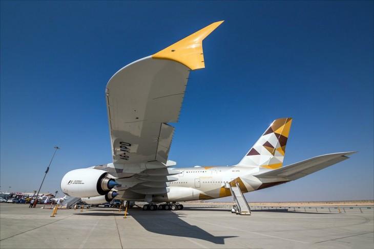 diseño del avión A380 el más lujoso del mundo